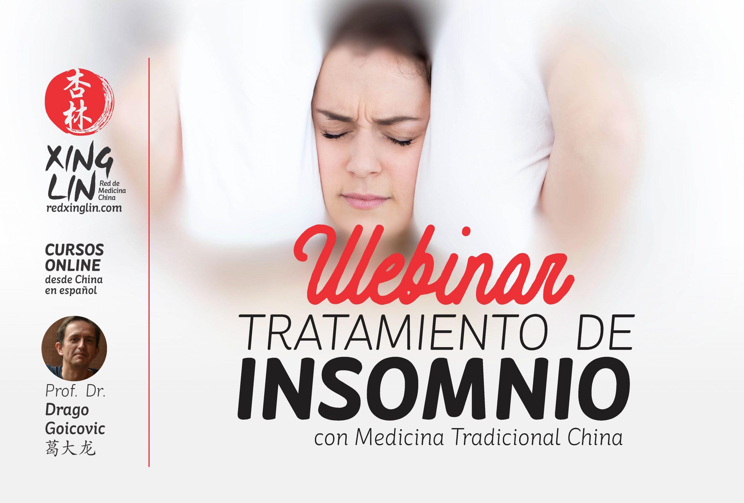 Webinar Tratamiento del Insomnio con MTC course image