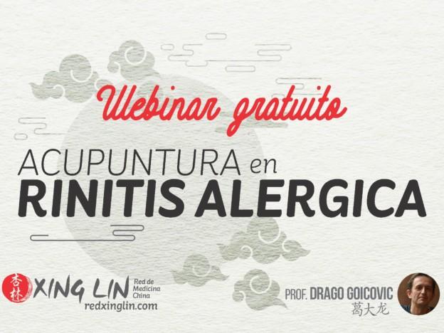 Webinar GRATUITO Rinitis course image