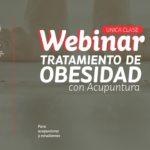 Webinar Tratamiento de Obesidad con Acupuntura